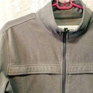 Burton Gray fleece Jacket L